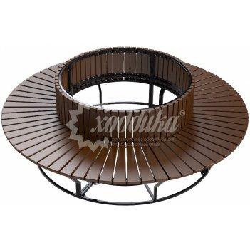 Диван стальной  «круглый» r1000