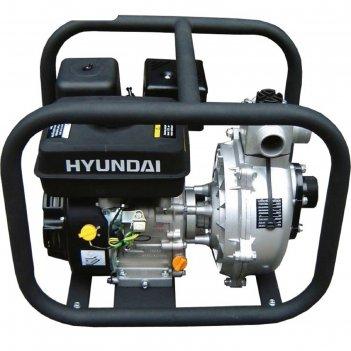 Мотопомпа бензиновая hyundai hyh 50, 5.2 квт, 7 л/с, 210 см3, 500 л/мин, д