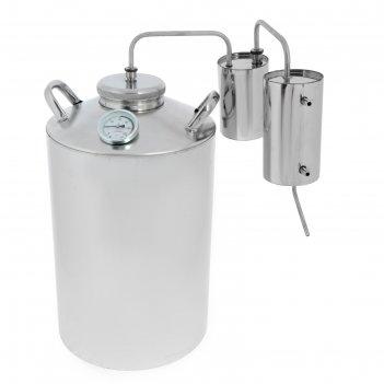 Дистиллятор 25 л «разборный», горло 100 мм, термометр