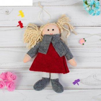 Кукла интерьерная ангел с хвостиками