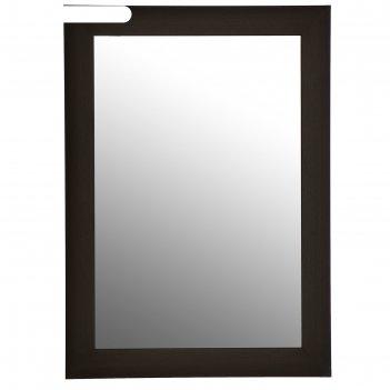 Зеркало настенное «венге», 50x70 см