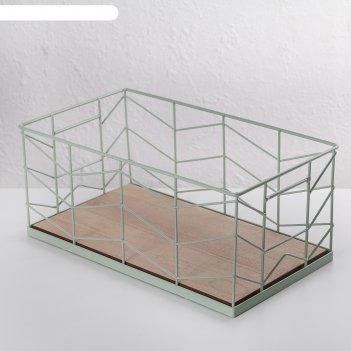 Корзина для хранения 30,5х17х13 см нежность, цвет микс