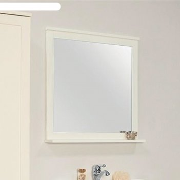 Зеркало леон 80, цвет дуб белый