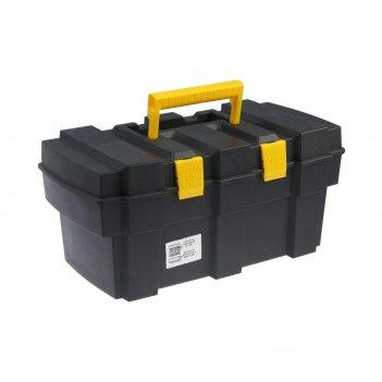 Ящик для инструмента tundra, 16, 42.2х22.5х20 см, пластиковый, подвижный л