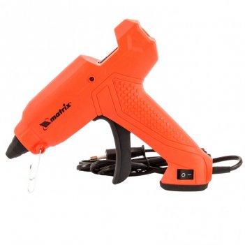 Клеевой пистолет, 11 мм, 30 (160) вт, 18 г/мин, выключатель и индикатор на