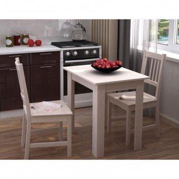 Стол кухонный раскладной, 800/1600х590х750, дуб белфорд