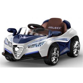 Электромобиль bugatti 5588 синий белый new 2014