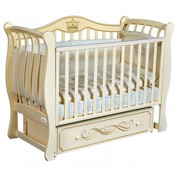 Детская кровать oliver florencia elegance, универсальный маятник, ящик, цв