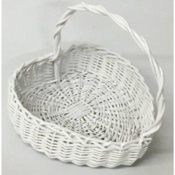 Корзина плетеная из ивовой лозы №2
