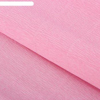 Бумага гофрированная, 949 розовая, 0,5 х 2,5 м