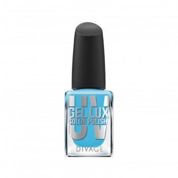 Гелевый лак для ногтей divage uv gel lux, тон №17