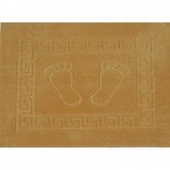 Коврик для ванной foot, 50 х 70 см, полипропилен, коричневый