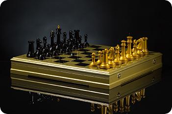 Шахматы стаунтон фараон kadun 46х46см