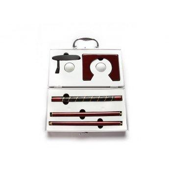 Набор для гольфа в металлическом чемодане