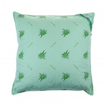 Подушка адамас с экстрактом алоэ-вера, синтетическое волокно, размер 70х70