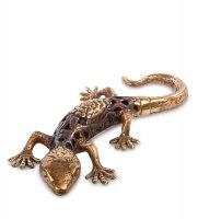 43-067 фигурка геккон (бронза, о.бали)
