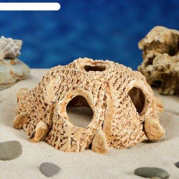 Декорации для аквариума гнездо малый