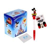 Мыльные пузыри ручка с печатью и светом микки маус, 10мл + игрушка