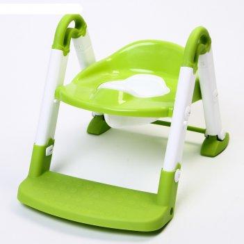 Горшок-трансформер 3 в 1, цвет зеленый