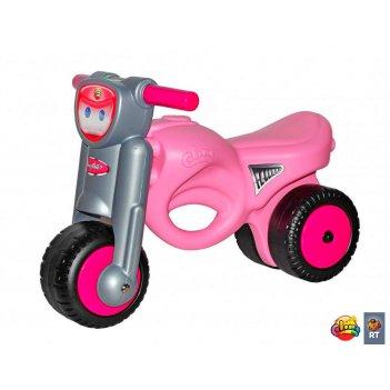 48233 каталка-мотоцикл мини-мото pink