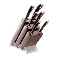 Набор ножей 6 предметов в подставке, серия ikon, wuesthof, золинген