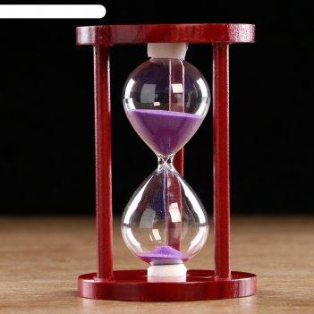 Часы песочные время на 10 минут, 14х9 см, микс