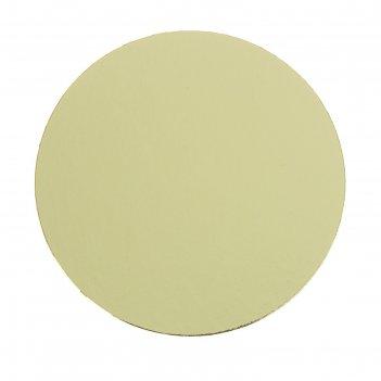 Подложка усиленная, 16 см, золото-жемчуг, 1,5 мм
