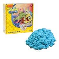 1toy губка боб, космический песок, голубой 0,5 кг