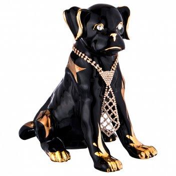 Статуэтка собака с галстуком 25*15см,  высота=24см (кор=6шт.)
