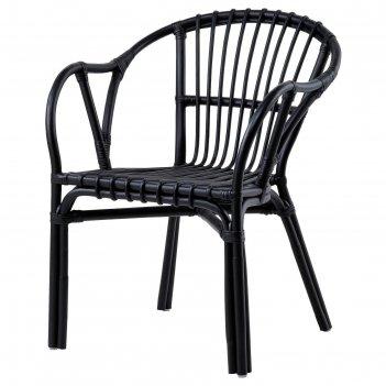 Кресло хольмсель, цвет черный