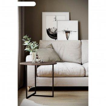 Стол журнальный «альбано», 550 x 550 x 500 мм, мдф, цвет акация