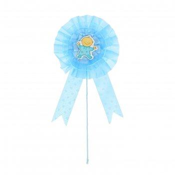 Топпер малыш, цвет голубой