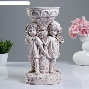 серые вазы