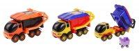 Машинка панда-мусоровоз, цвета микс