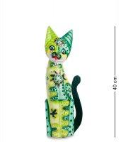 99-287 статуэтка кошка 40см (албезия, о.бали)
