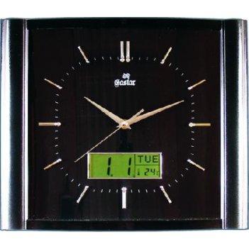 Настенные часы gastar t 541 b (пластик)