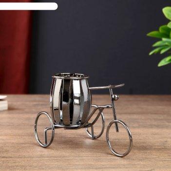 Карандашница велосипед