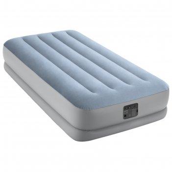 Кровать надувная raised comfort  99 х 191 х 36 см  встр.нас. 220в, до 136