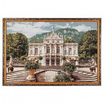 Гобеленовая картина белый замок