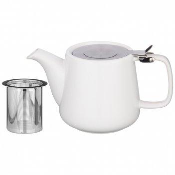 Чайник с металл.ситом и металл.крышкой velour 500мл (кор=24шт.)