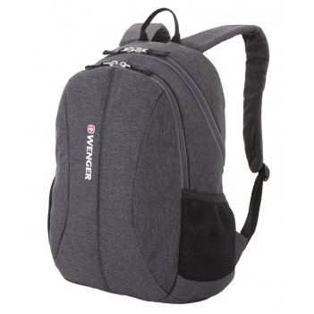 """Рюкзак из ткани grey heather с отделением для ноутбука 13"""" (23 л) wen"""