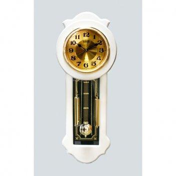 Настенные часы с маятником sinix 03w