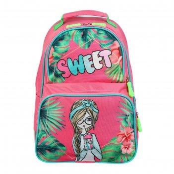 Рюкзак школьный с эргономичной спинкой luris тимошка орт 37 х 26 х 13, дев