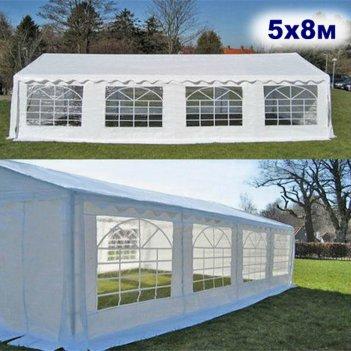 Шатёр павильон 5x10м. ткань pvc/500gr.