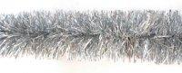 Мишура серебро, 7 см, 2 м