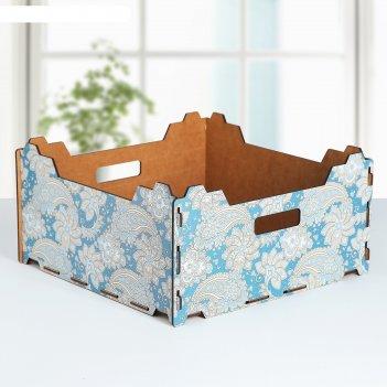 Ящик складной для хранения огурцы 300*300*150 мм
