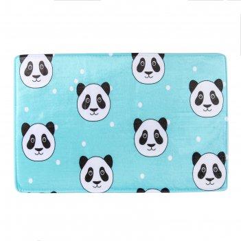 Коврик для ванной 40x60 см панда