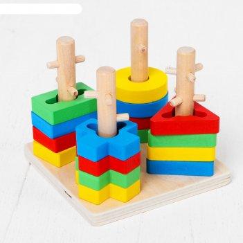Логическая пирамидка замочки