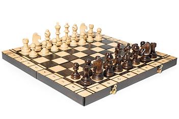 Большие шахматы и шашки польша 50х50см