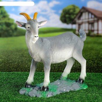 Садовая фигура козел малый 47х43х20см